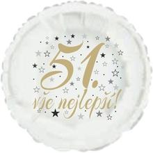 51. narozeniny balónek kruh