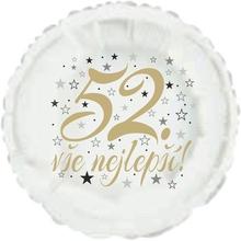 52. narozeniny balónek kruh