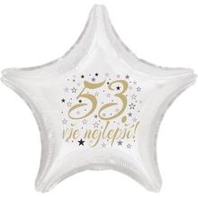 53. narozeniny balónek hvězda
