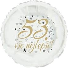 53. narozeniny balónek kruh