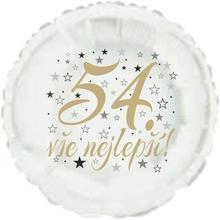 54. narozeniny balónek kruh