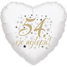 54. narozeniny balónek srdce