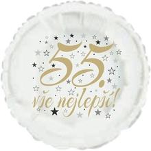 55. narozeniny balónek kruh