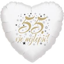 55. narozeniny balónek srdce