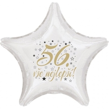56. narozeniny balónek hvězda
