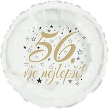 56. narozeniny balónek kruh