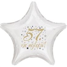 57. narozeniny balónek hvězda