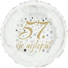 57. narozeniny balónek kruh