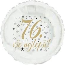 76. narozeniny balónek kruh