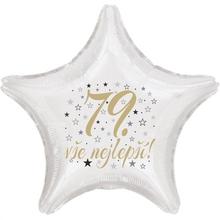 79. narozeniny balónek hvězda