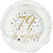 79. narozeniny balónek kruh