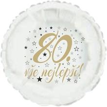80. narozeniny balónek kruh
