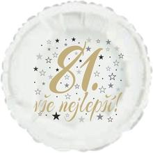 81. narozeniny balónek kruh