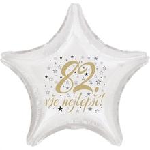 82. narozeniny balónek hvězda