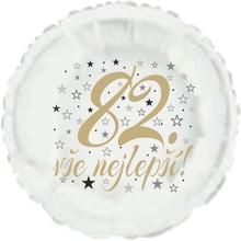 82. narozeniny balónek kruh