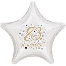 83. narozeniny balónek hvězda