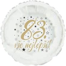 83. narozeniny balónek kruh