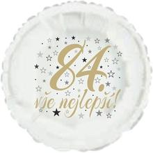 84. narozeniny balónek kruh