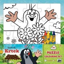 Omalovánky Krtek puzzle