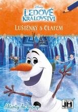 Ledové království luštěnky s Olafem