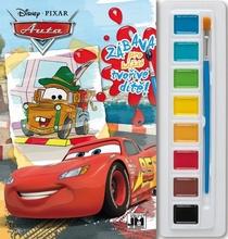 Omalovánky s barvami Cars