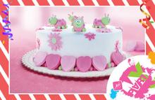Podnos pod dort bílý 29 cm