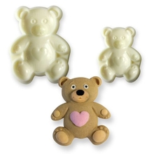 Medvídek se srdíčkem vykrajovátko, 2 ks