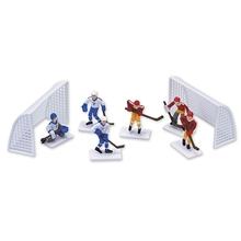 Figurky hokej sada na dort 8ks