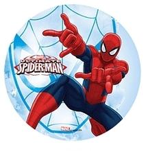Jedlý papír Spiderman 21cm