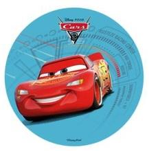 Jedlý papír Cars 21cm