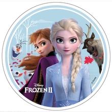Frozen 2 jedlý papír na dort 21 cm