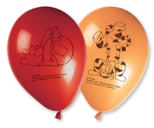 Medvídek Pú balónky 8ks 28cm mix
