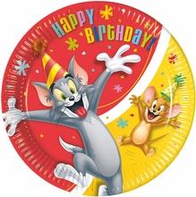 Tom and Jerry talíře 8ks 23cm