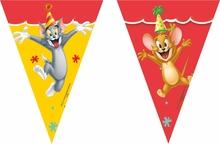 Tom and Jerry vlajka 9ks, 2,3m