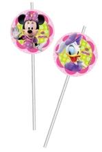 Minnie Mouse slámky na pití 6ks