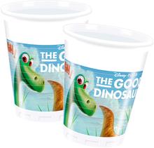 Hodný dinosaurus kelímky 8ks 200ml