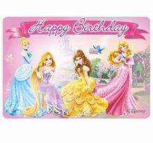 Princess svíčka narozeniny 9cm x 8,5cm