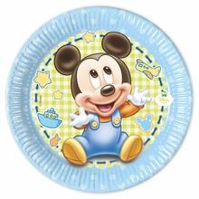 Mickey Baby talíře 8ks 20cm