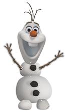 Frozen závěsná dekorace Olaf 55cm