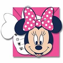 Minnie pozvánky 6 ks