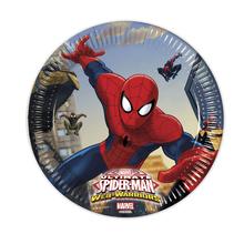 Spiderman talíře 8ks 20cm