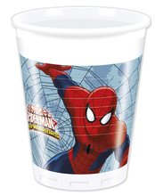 Spiderman kelímky 8ks 200ml
