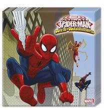 Spiderman ubrousky 20ks 33 x 33cm