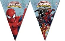Spiderman vlajka 2,3m, 9ks