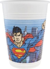 Superman kelímky 8ks 200ml