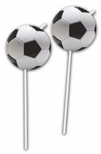 Slámky na pití fotbal 6ks