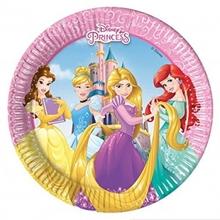 Princess talíře 8ks 20cm
