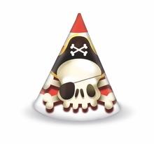 Piráti čepičky 6ks
