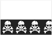 Piráti ubrus 120 cm x 180 cm