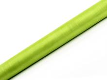 Organza světle zelená 36 cm x 9 m